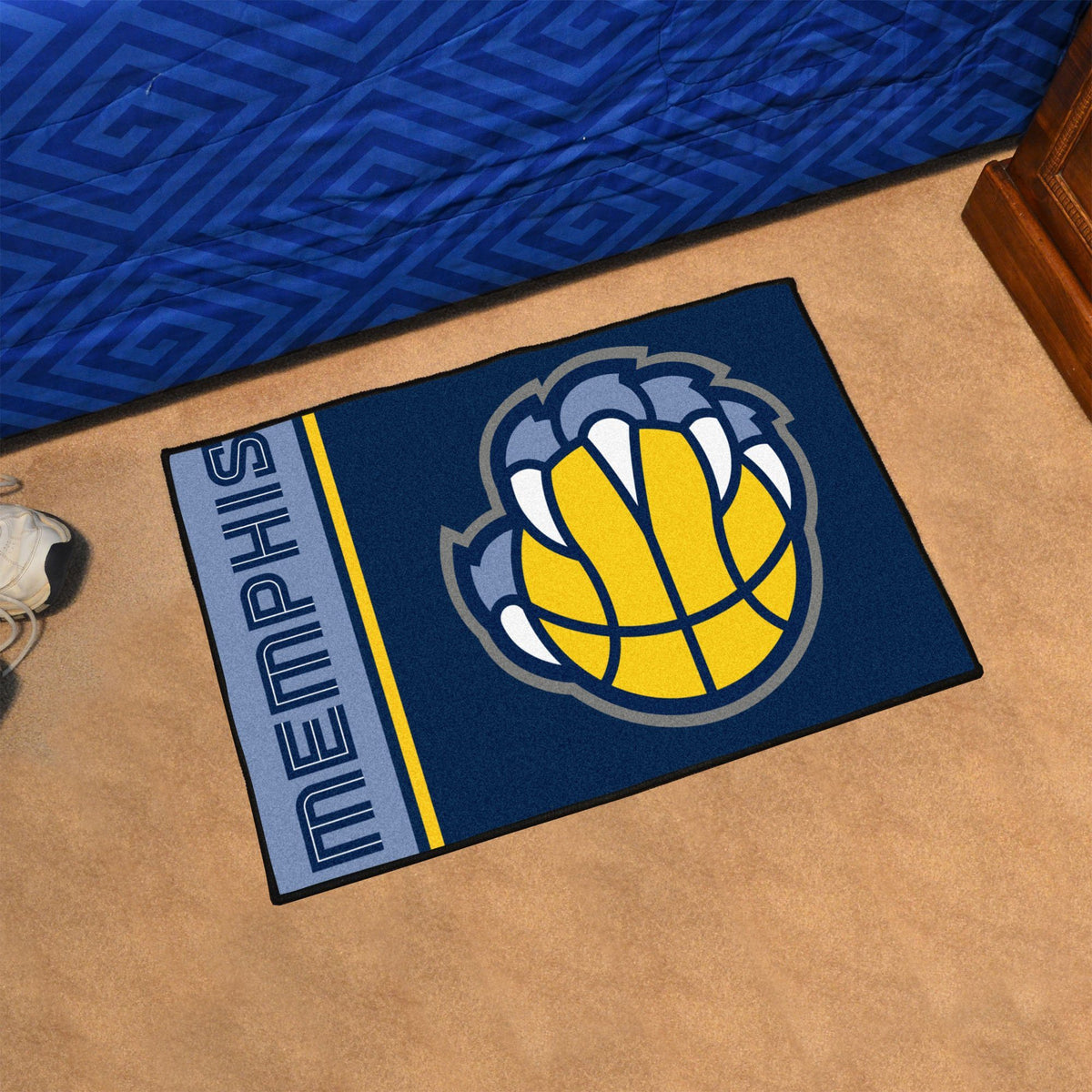 NBA - Uniform Starter Mat NBA Mats, Rectangular Mats, Uniform Starter Mat, NBA, Home Fan Mats Memphis Grizzlies