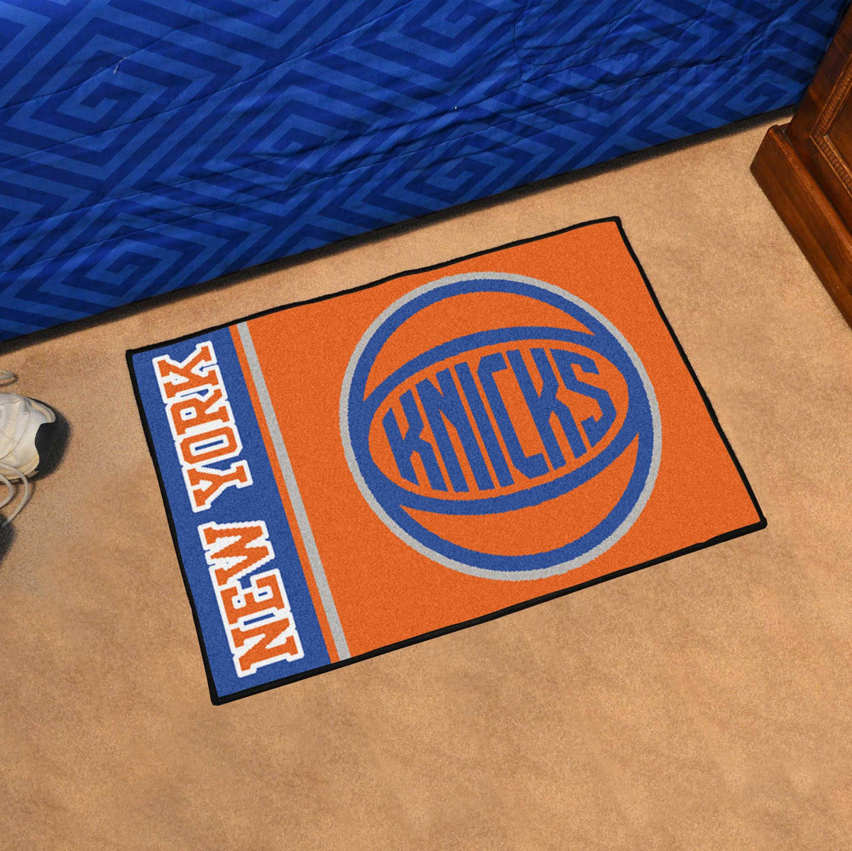 NBA - Uniform Starter Mat NBA Mats, Rectangular Mats, Uniform Starter Mat, NBA, Home Fan Mats New York Knicks