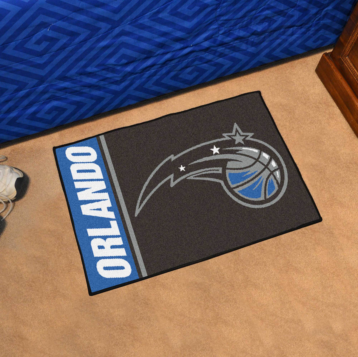NBA - Uniform Starter Mat NBA Mats, Rectangular Mats, Uniform Starter Mat, NBA, Home Fan Mats Orlando Magic
