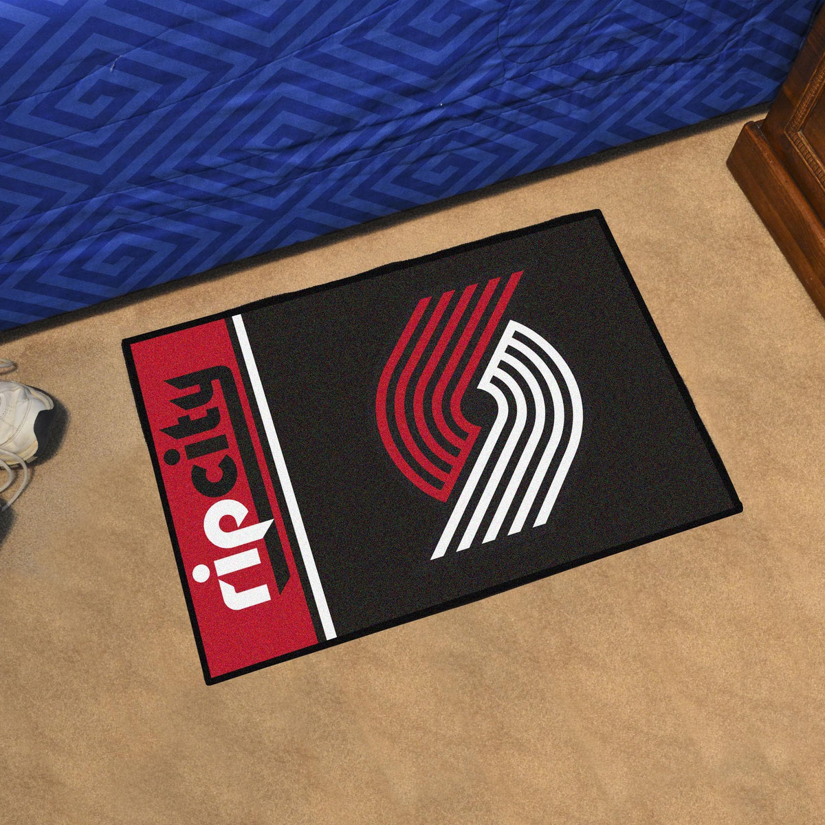 NBA - Uniform Starter Mat NBA Mats, Rectangular Mats, Uniform Starter Mat, NBA, Home Fan Mats Portland Trail Blazers