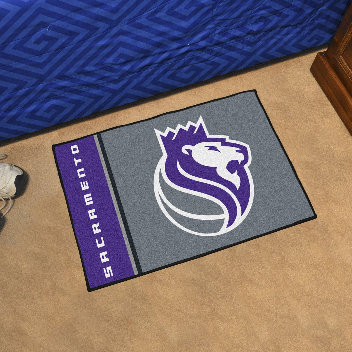NBA - Uniform Starter Mat NBA Mats, Rectangular Mats, Uniform Starter Mat, NBA, Home Fan Mats Sacramento Kings