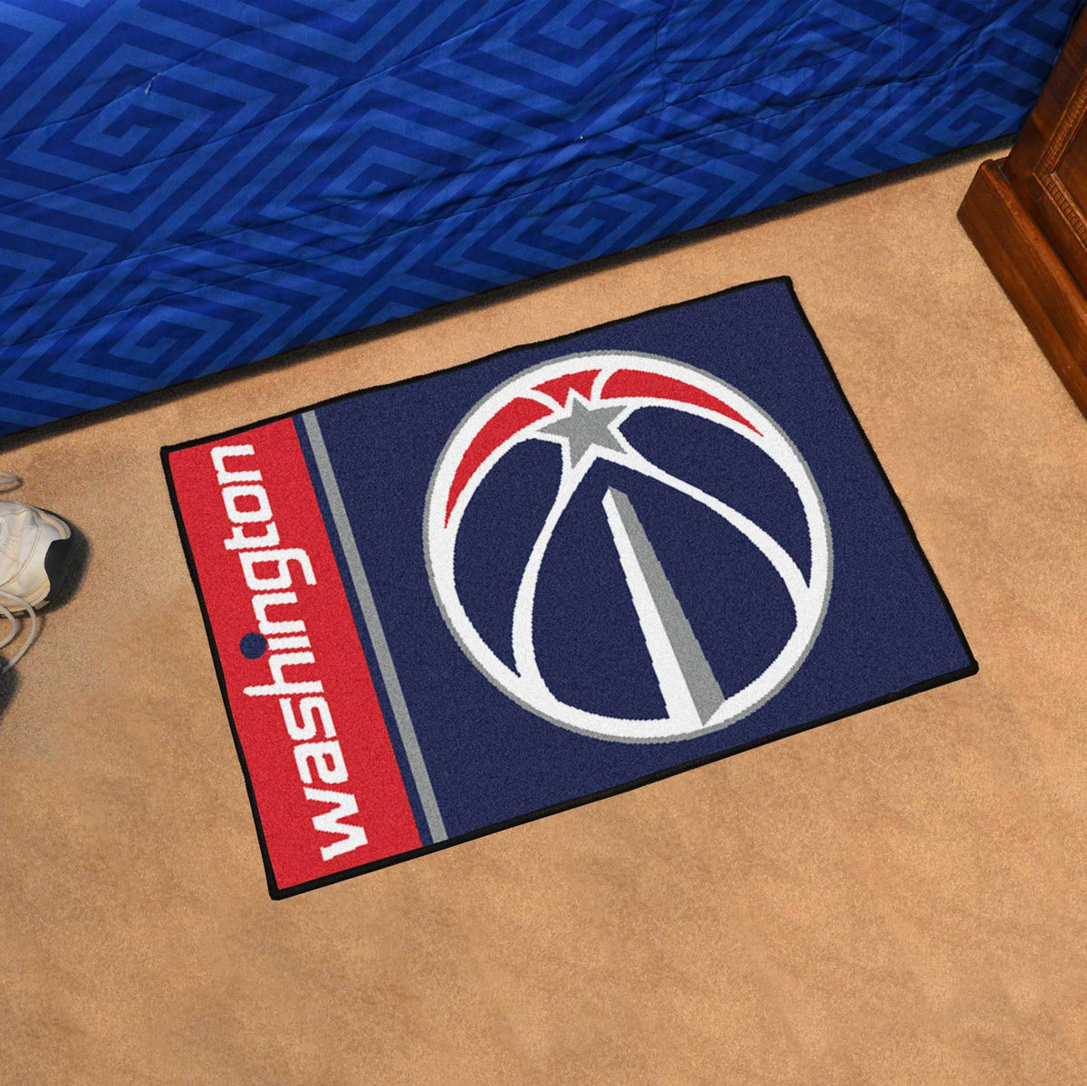 NBA - Uniform Starter Mat NBA Mats, Rectangular Mats, Uniform Starter Mat, NBA, Home Fan Mats Washington Wizards