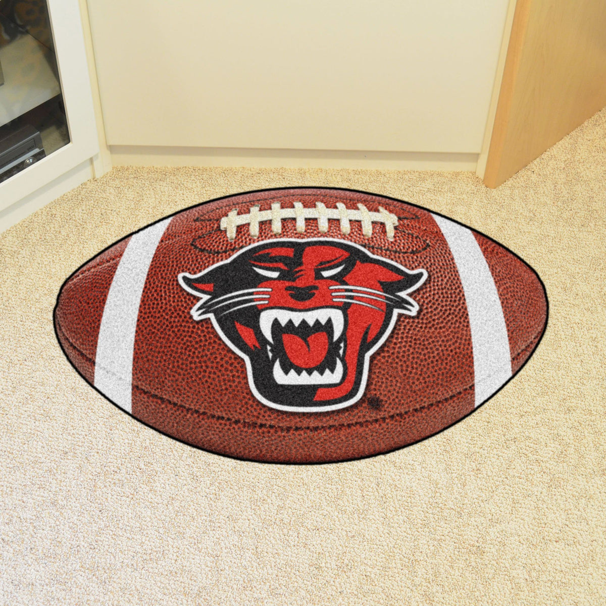 Collegiate - Football Mat: A - K Collegiate Mats, Rectangular Mats, Football Mat, Collegiate, Home Fan Mats Davenport