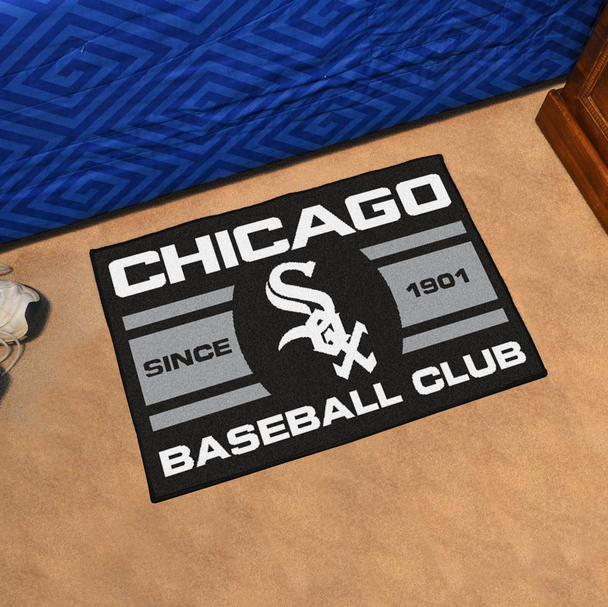 MLB - Uniform Starter Mat MLB Mats, Rectangular Mats, Uniform Starter Mat, MLB, Home Fan Mats Chicago White Sox
