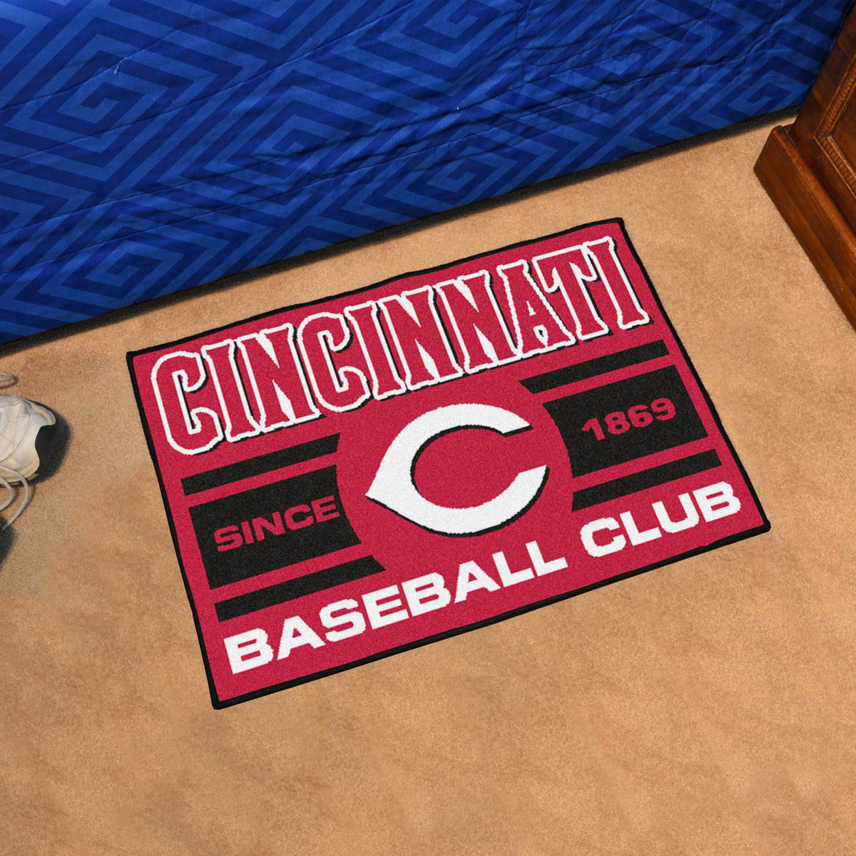 MLB - Uniform Starter Mat MLB Mats, Rectangular Mats, Uniform Starter Mat, MLB, Home Fan Mats Cincinnati Reds