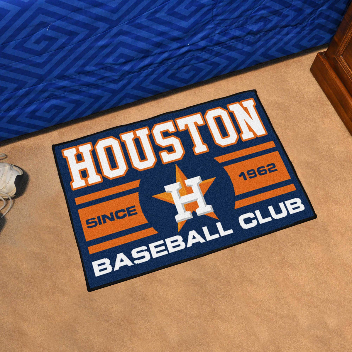 MLB - Uniform Starter Mat MLB Mats, Rectangular Mats, Uniform Starter Mat, MLB, Home Fan Mats Houston Astros