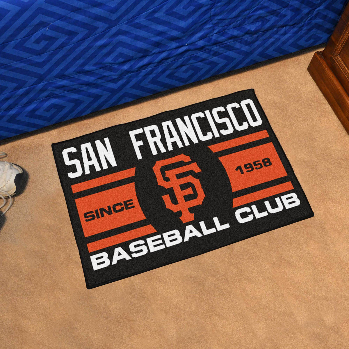 MLB - Uniform Starter Mat MLB Mats, Rectangular Mats, Uniform Starter Mat, MLB, Home Fan Mats San Francisco Giants