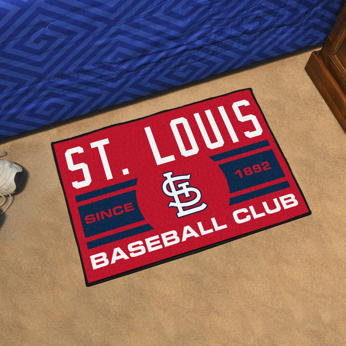MLB - Uniform Starter Mat MLB Mats, Rectangular Mats, Uniform Starter Mat, MLB, Home Fan Mats St. Louis Cardinals