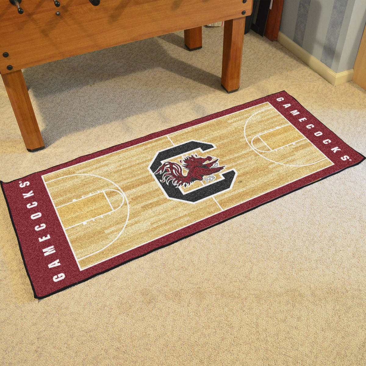 Collegiate - NCAA Basketball Runner Collegiate Mats, Rectangular Mats, NCAA Basketball Runner, Collegiate, Home Fan Mats South Carolina
