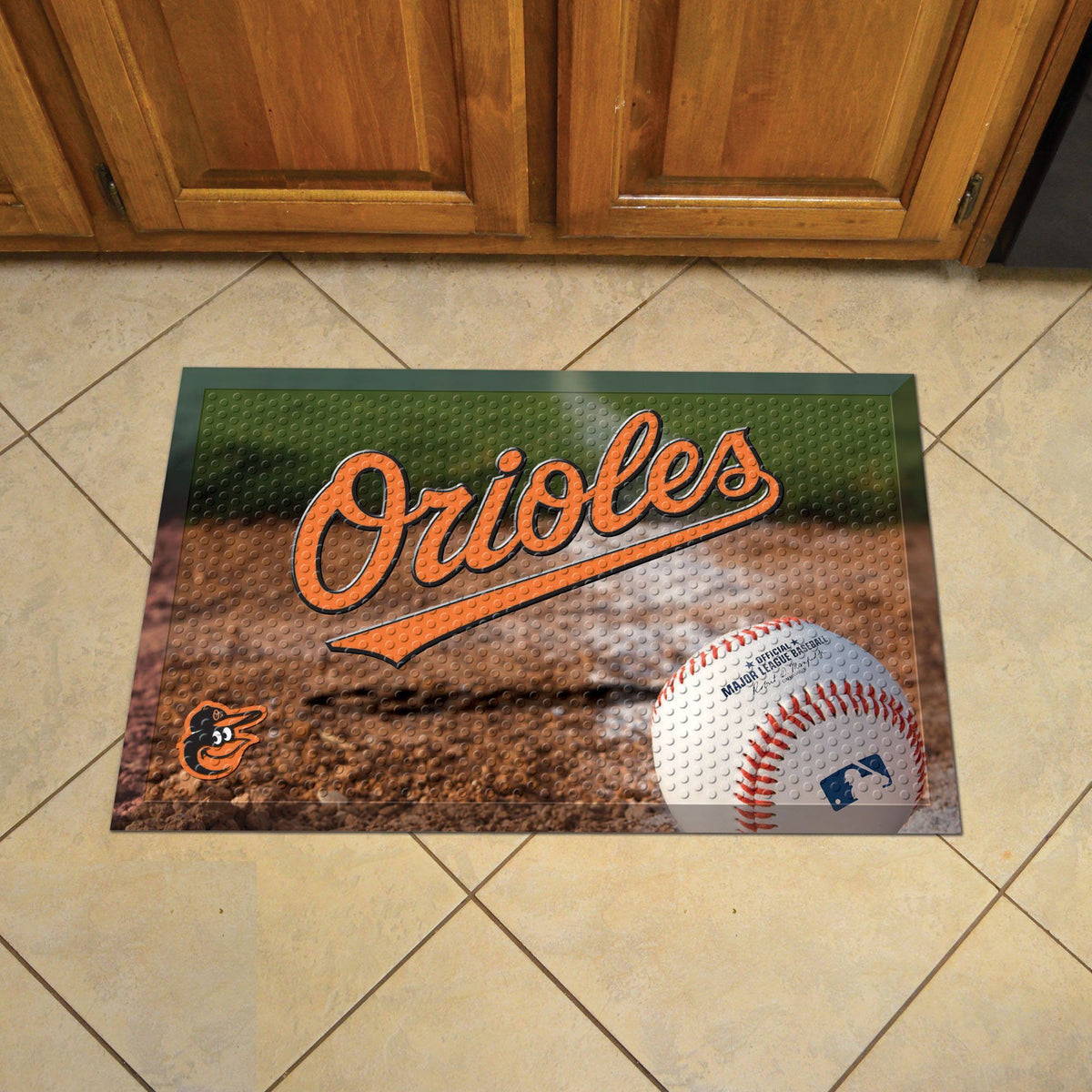 MLB - Scraper Mat MLB Mats, Scraper Mats, Scraper Mat, MLB, Home Fan Mats Baltimore Orioles