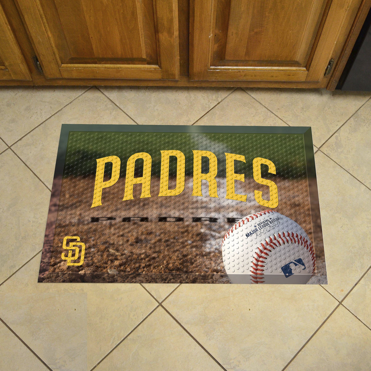 MLB - Scraper Mat MLB Mats, Scraper Mats, Scraper Mat, MLB, Home Fan Mats San Diego Padres
