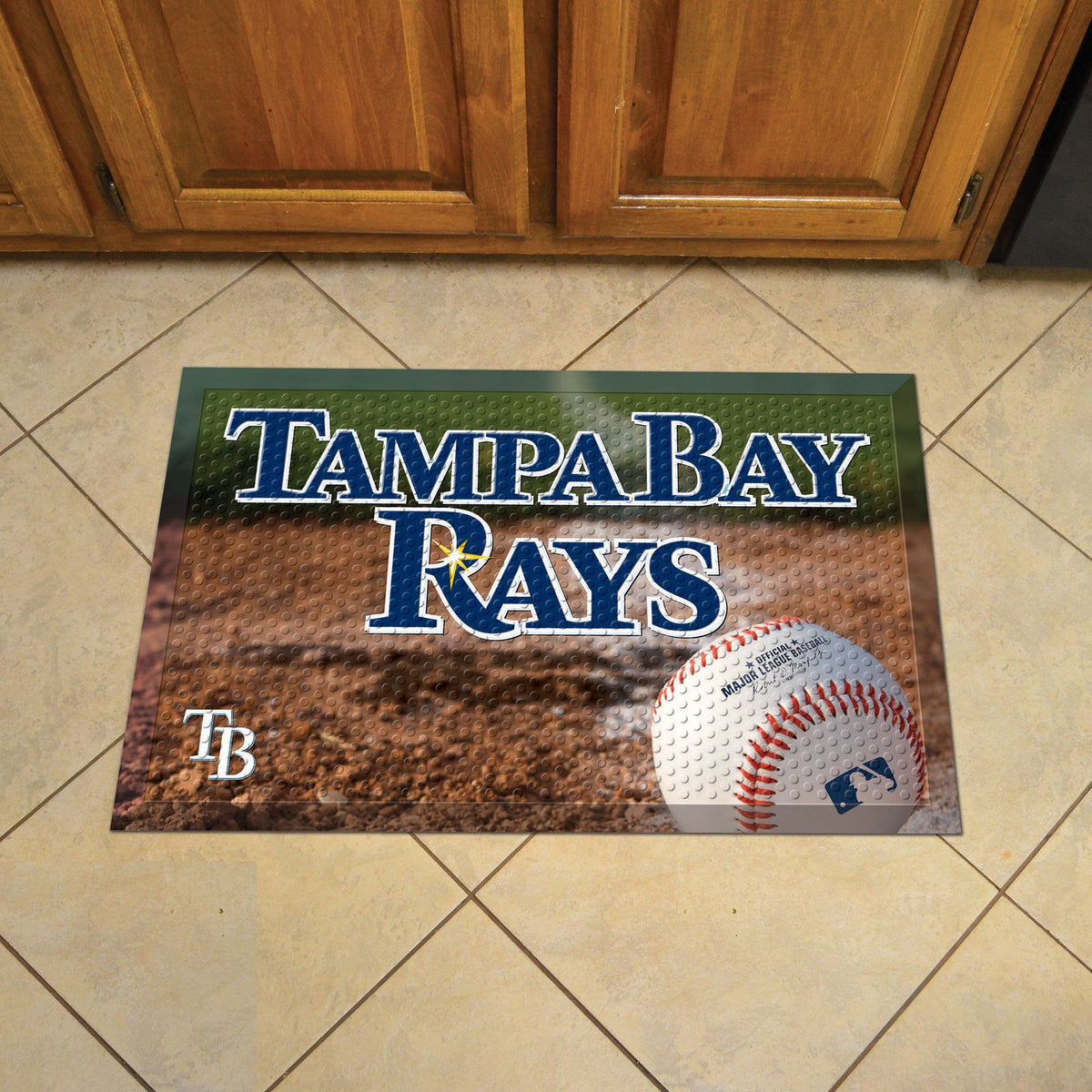 MLB - Scraper Mat MLB Mats, Scraper Mats, Scraper Mat, MLB, Home Fan Mats Tampa Bay Rays