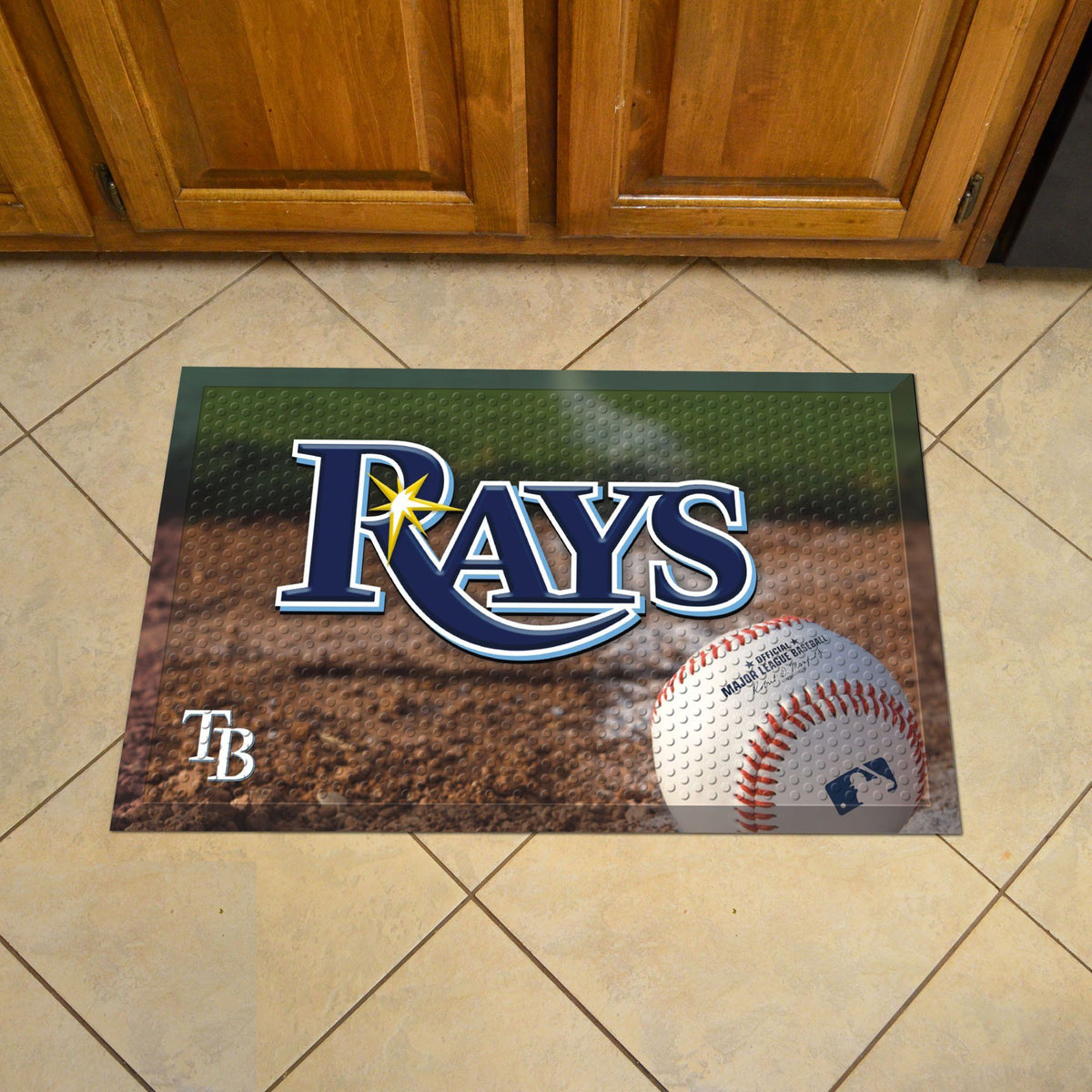 MLB - Scraper Mat MLB Mats, Scraper Mats, Scraper Mat, MLB, Home Fan Mats Tampa Bay Rays 2