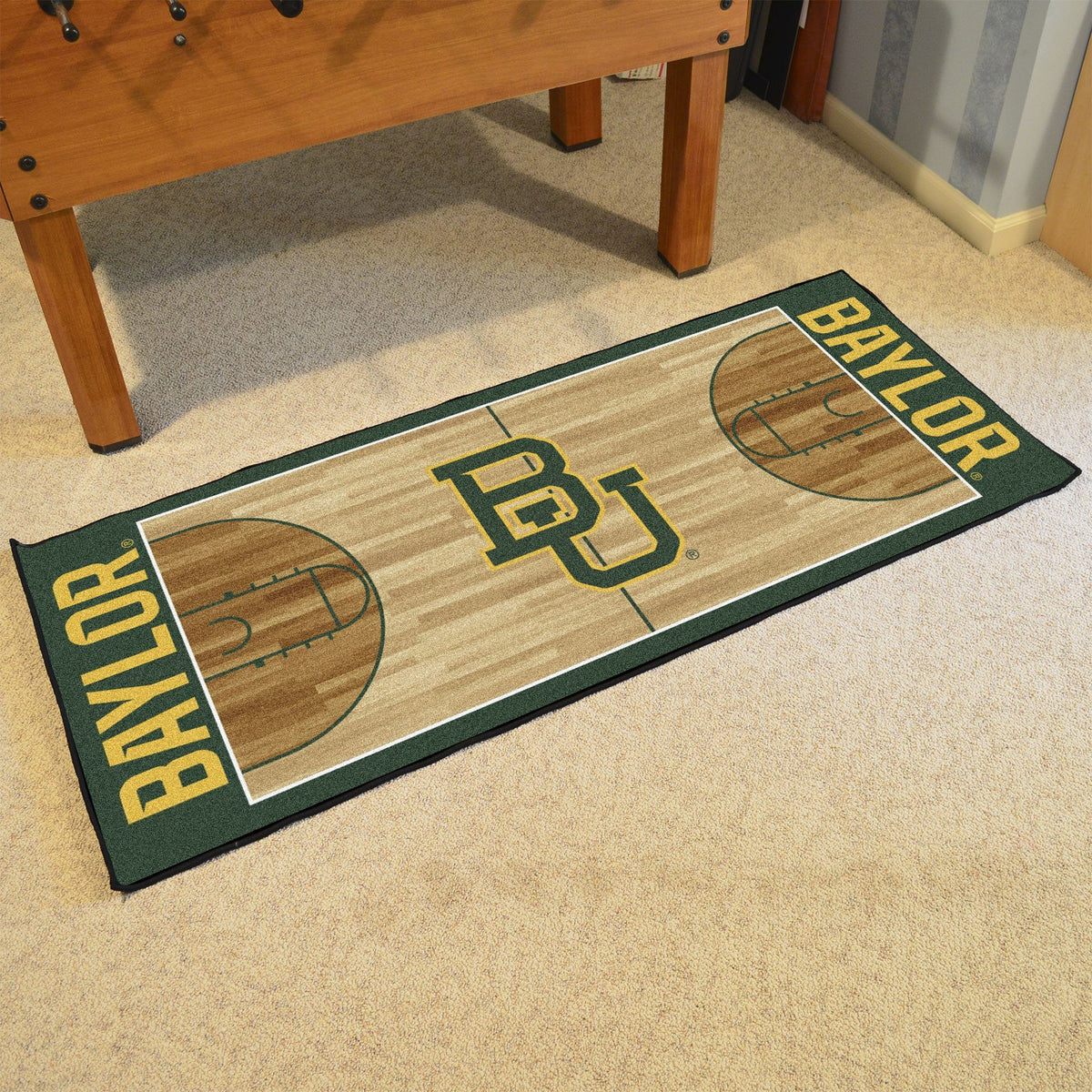 Collegiate - NCAA Basketball Runner Collegiate Mats, Rectangular Mats, NCAA Basketball Runner, Collegiate, Home Fan Mats Baylor