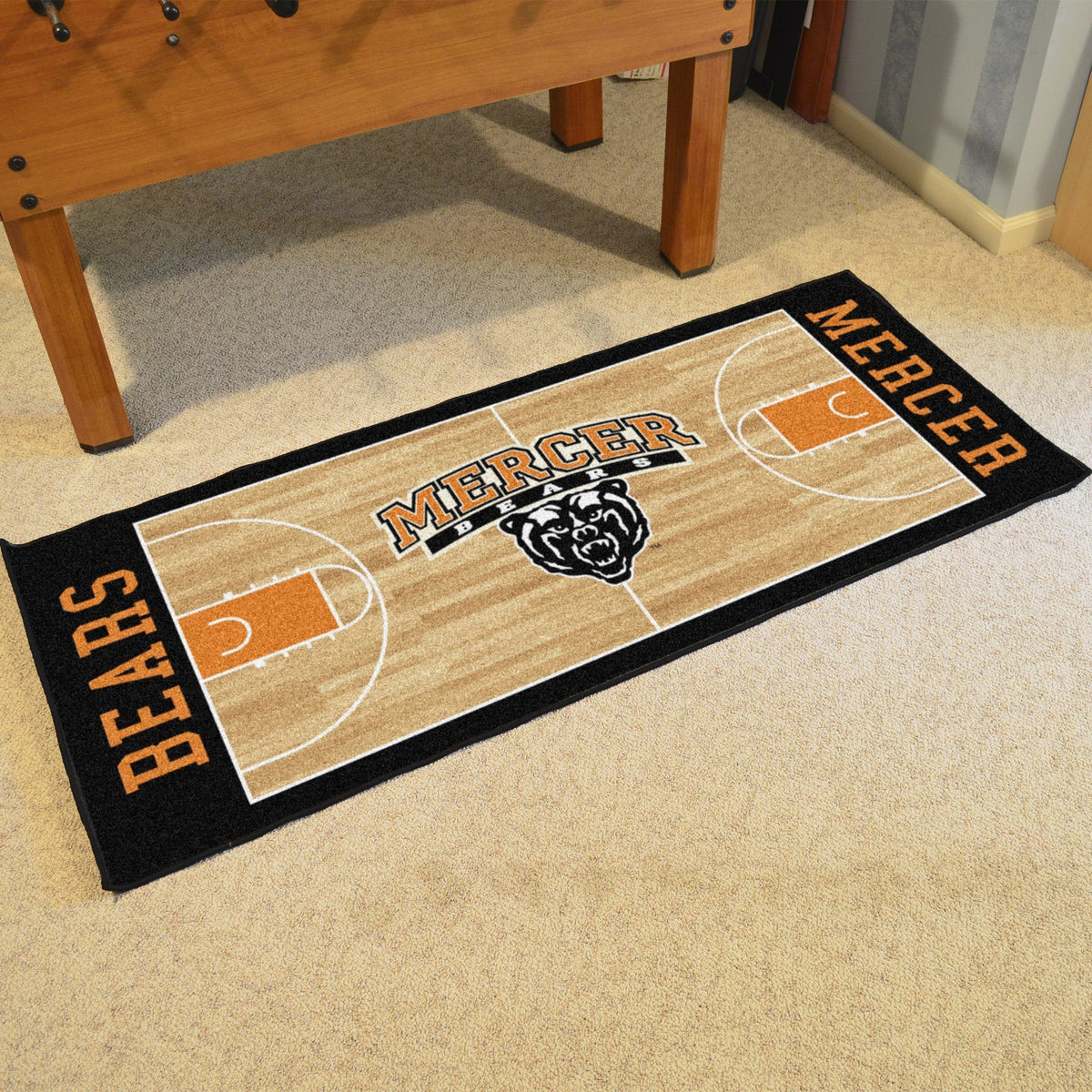 Collegiate - NCAA Basketball Runner Collegiate Mats, Rectangular Mats, NCAA Basketball Runner, Collegiate, Home Fan Mats Mercer