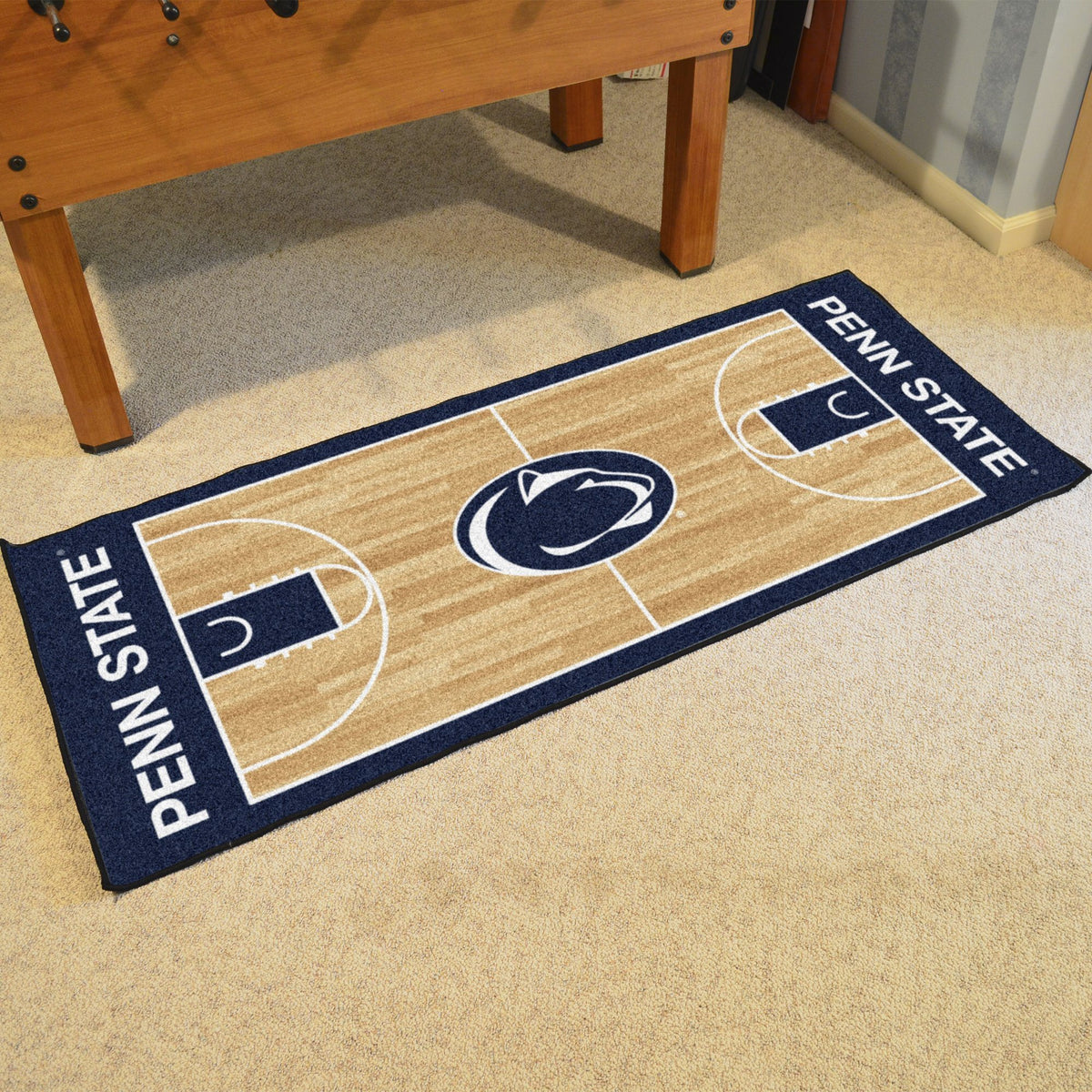 Collegiate - NCAA Basketball Runner Collegiate Mats, Rectangular Mats, NCAA Basketball Runner, Collegiate, Home Fan Mats Penn State