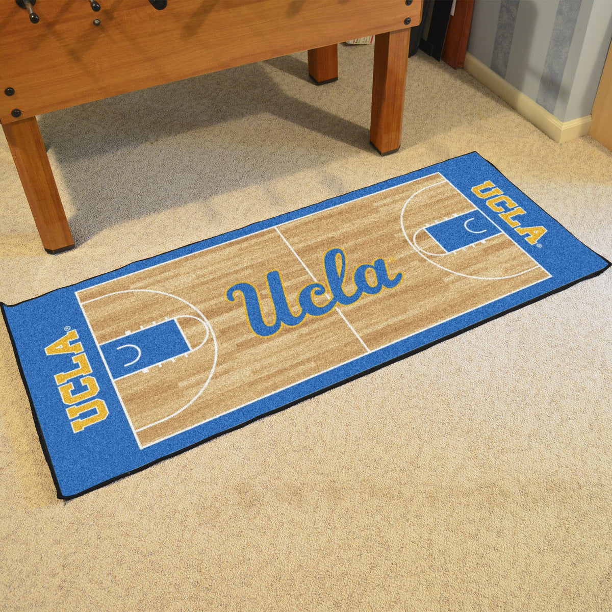 Collegiate - NCAA Basketball Runner Collegiate Mats, Rectangular Mats, NCAA Basketball Runner, Collegiate, Home Fan Mats UCLA