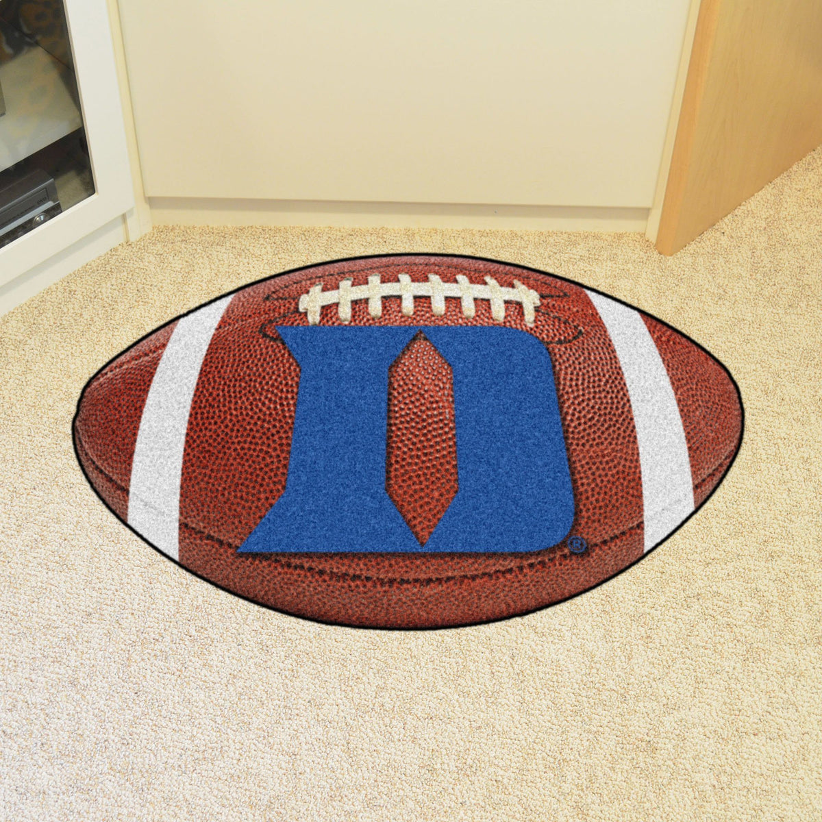 Collegiate - Football Mat: A - K Collegiate Mats, Rectangular Mats, Football Mat, Collegiate, Home Fan Mats Duke 2