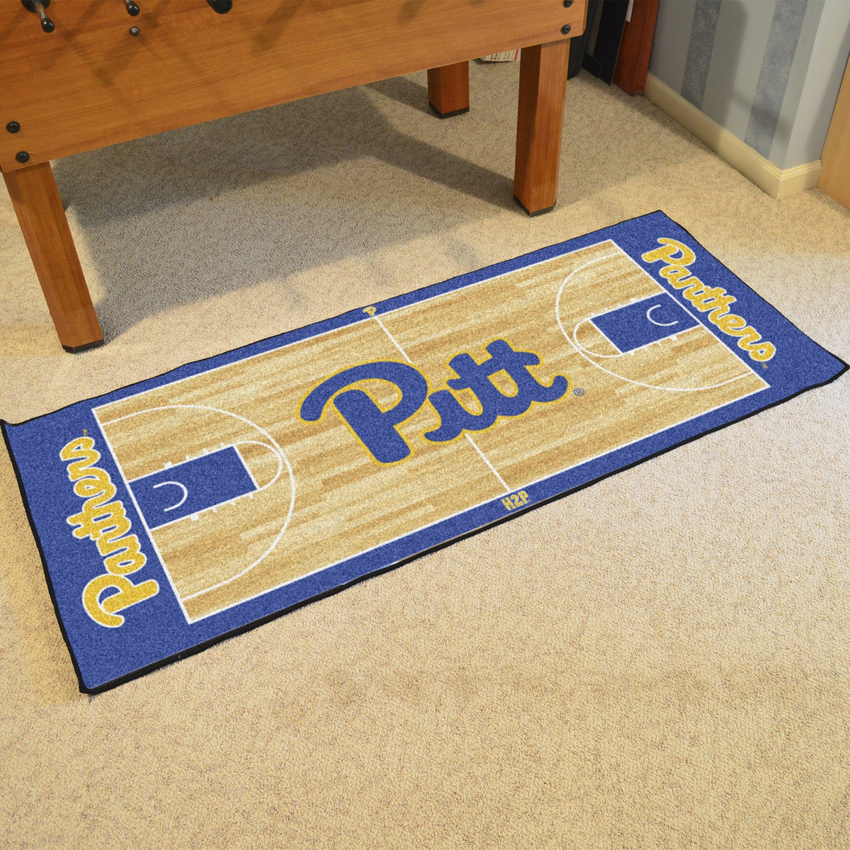 Collegiate - NCAA Basketball Runner Collegiate Mats, Rectangular Mats, NCAA Basketball Runner, Collegiate, Home Fan Mats Pitt