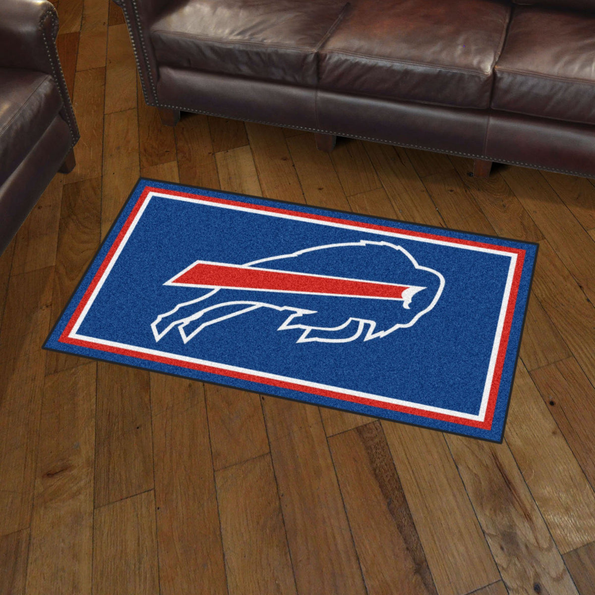 NFL - 3' x 5' Rug NFL Mats, Plush Rugs, 3x5 Rug, NFL, Home Fan Mats Buffalo Bills
