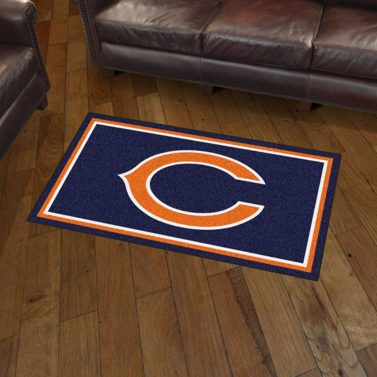 NFL - 3' x 5' Rug NFL Mats, Plush Rugs, 3x5 Rug, NFL, Home Fan Mats Chicago Bears