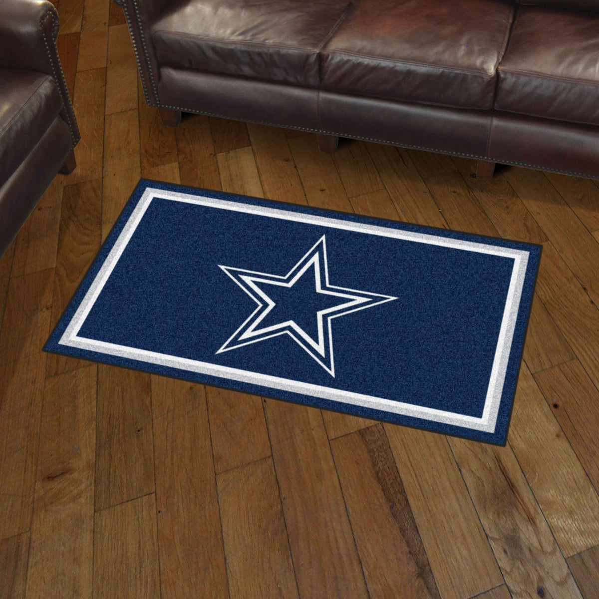 NFL - 3' x 5' Rug NFL Mats, Plush Rugs, 3x5 Rug, NFL, Home Fan Mats Dallas Cowboys