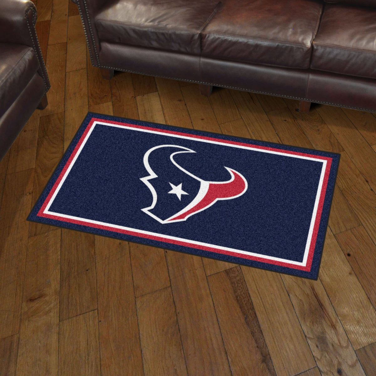 NFL - 3' x 5' Rug NFL Mats, Plush Rugs, 3x5 Rug, NFL, Home Fan Mats Houston Texans