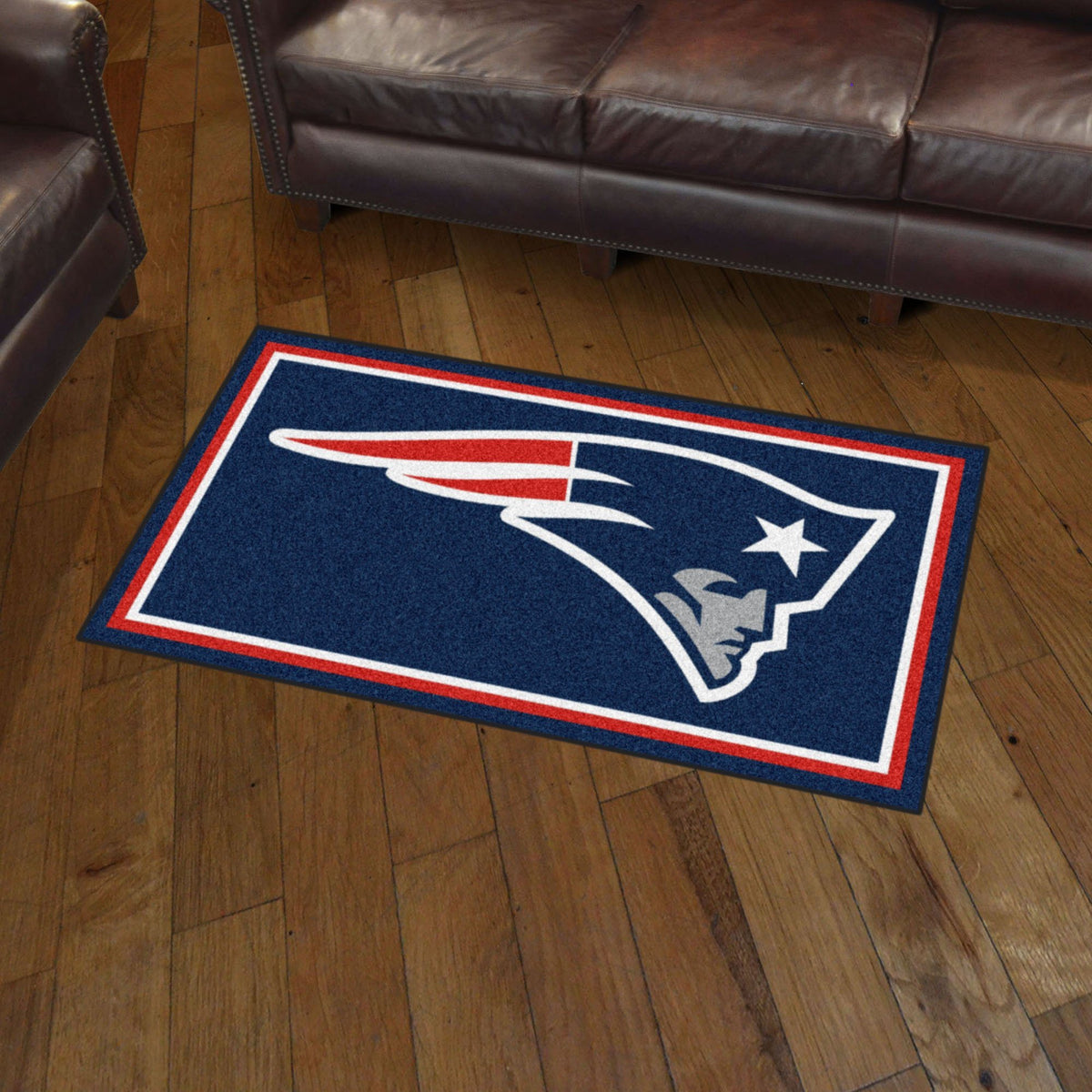 NFL - 3' x 5' Rug NFL Mats, Plush Rugs, 3x5 Rug, NFL, Home Fan Mats New England Patriots