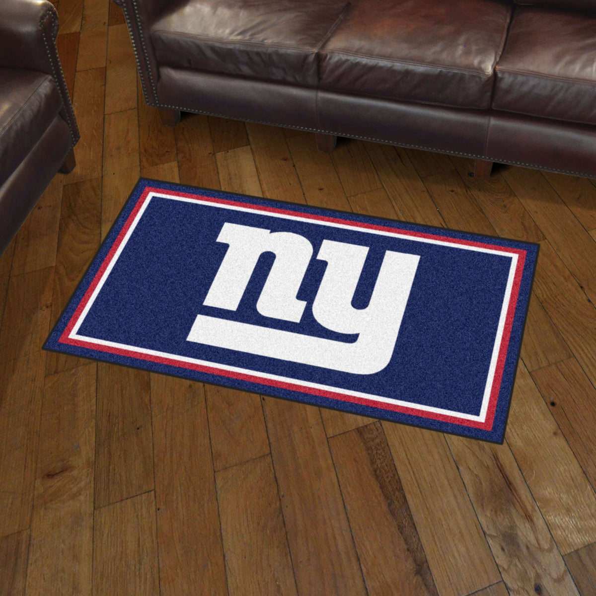 NFL - 3' x 5' Rug NFL Mats, Plush Rugs, 3x5 Rug, NFL, Home Fan Mats New York Giants