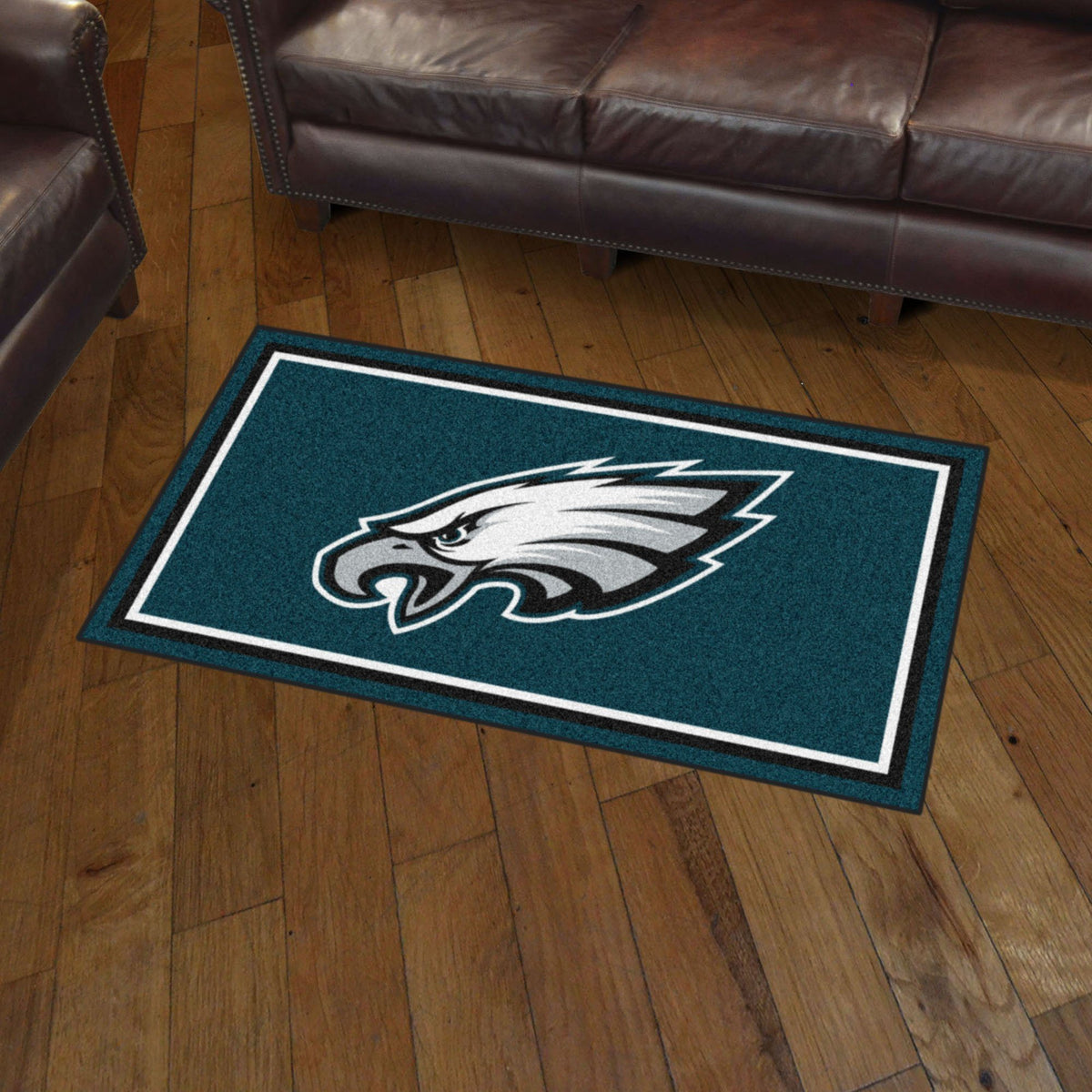 NFL - 3' x 5' Rug NFL Mats, Plush Rugs, 3x5 Rug, NFL, Home Fan Mats Philadelphia Eagles