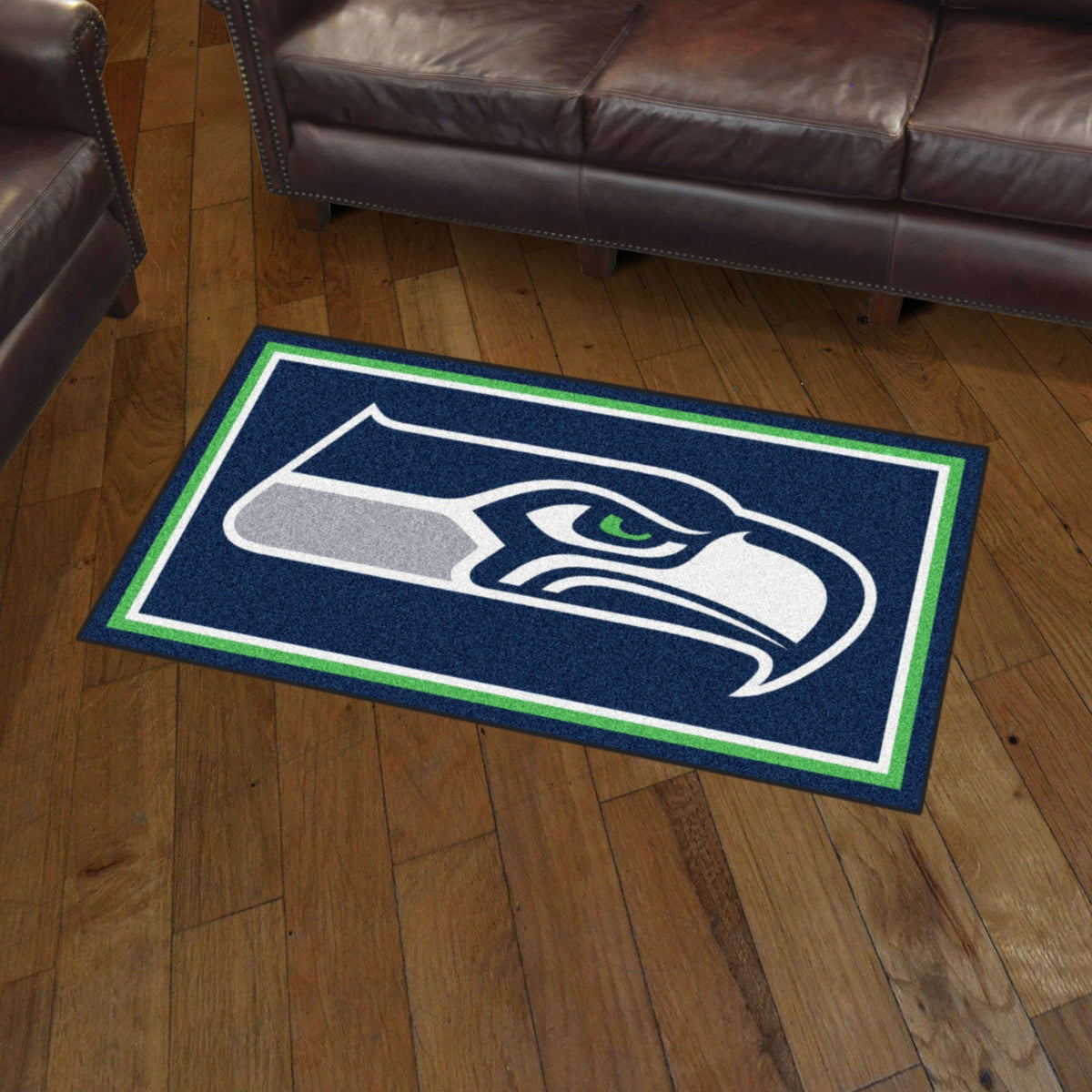 NFL - 3' x 5' Rug NFL Mats, Plush Rugs, 3x5 Rug, NFL, Home Fan Mats Seattle Seahawks