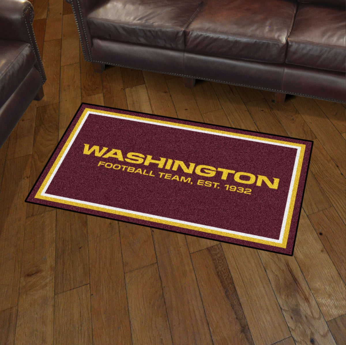 NFL - 3' x 5' Rug NFL Mats, Plush Rugs, 3x5 Rug, NFL, Home Fan Mats Washington Redskins