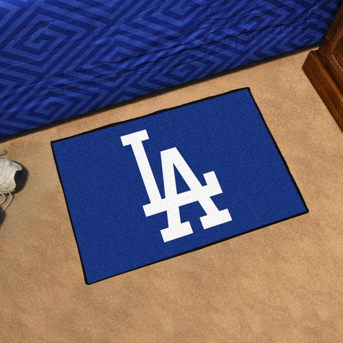 MLB - Starter Mat MLB Mats, Rectangular Mats, Starter Mat, MLB, Home Fan Mats Los Angeles Dodgers 3
