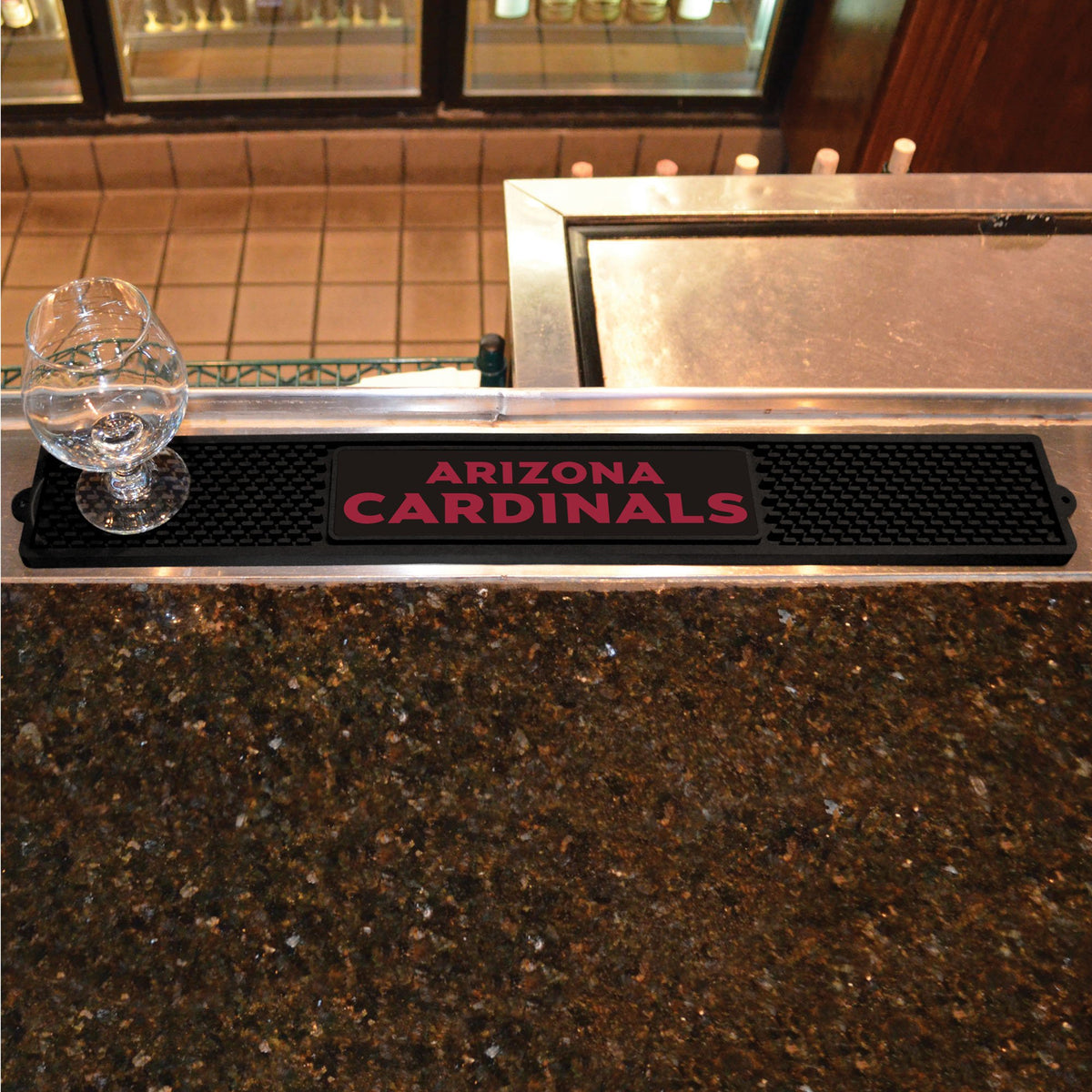 NFL - Drink Mat NFL Mats, Tailgate Accessory, Drink Mat, NFL, Leisure Fan Mats Arizona Cardinals