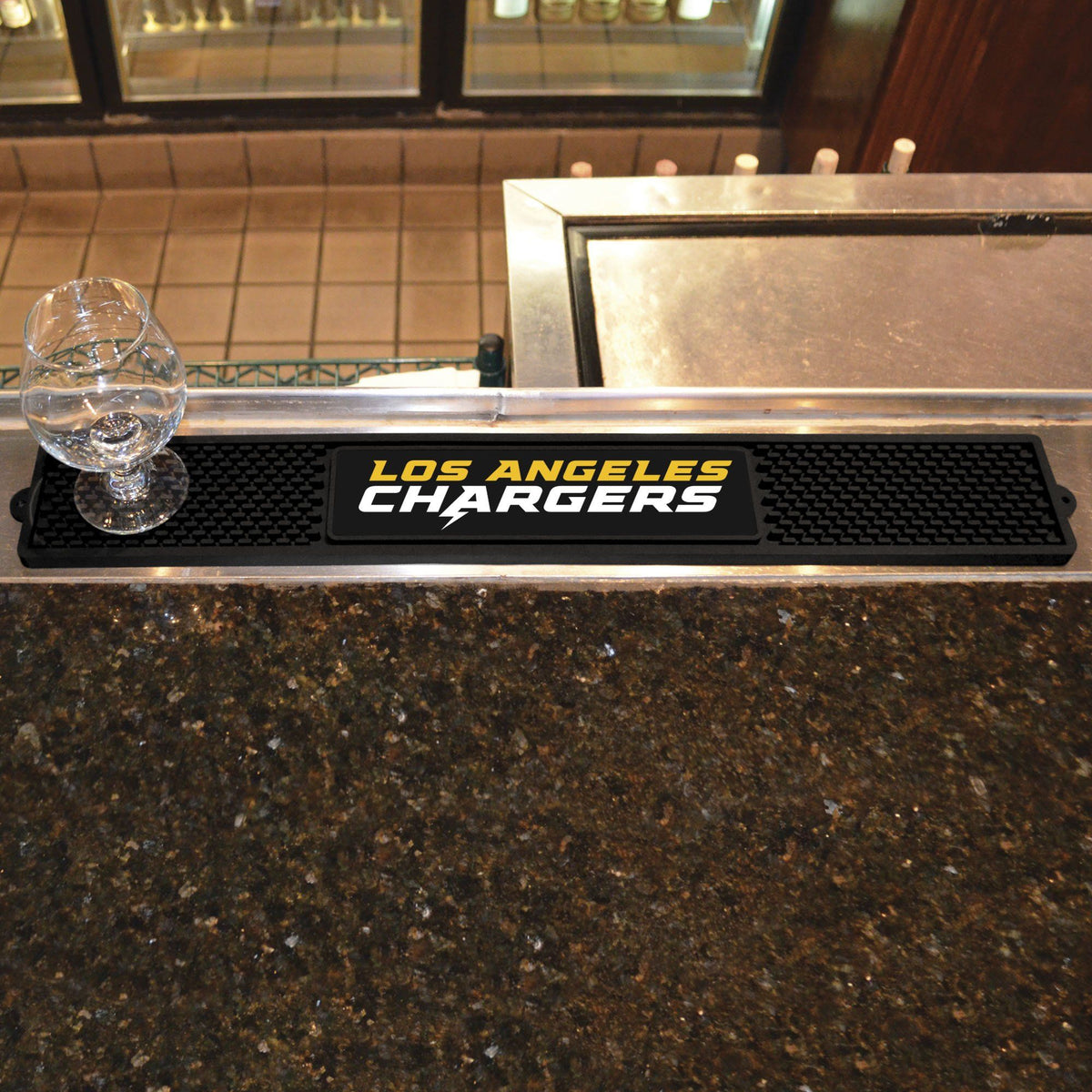 NFL - Drink Mat NFL Mats, Tailgate Accessory, Drink Mat, NFL, Leisure Fan Mats Los Angeles Chargers