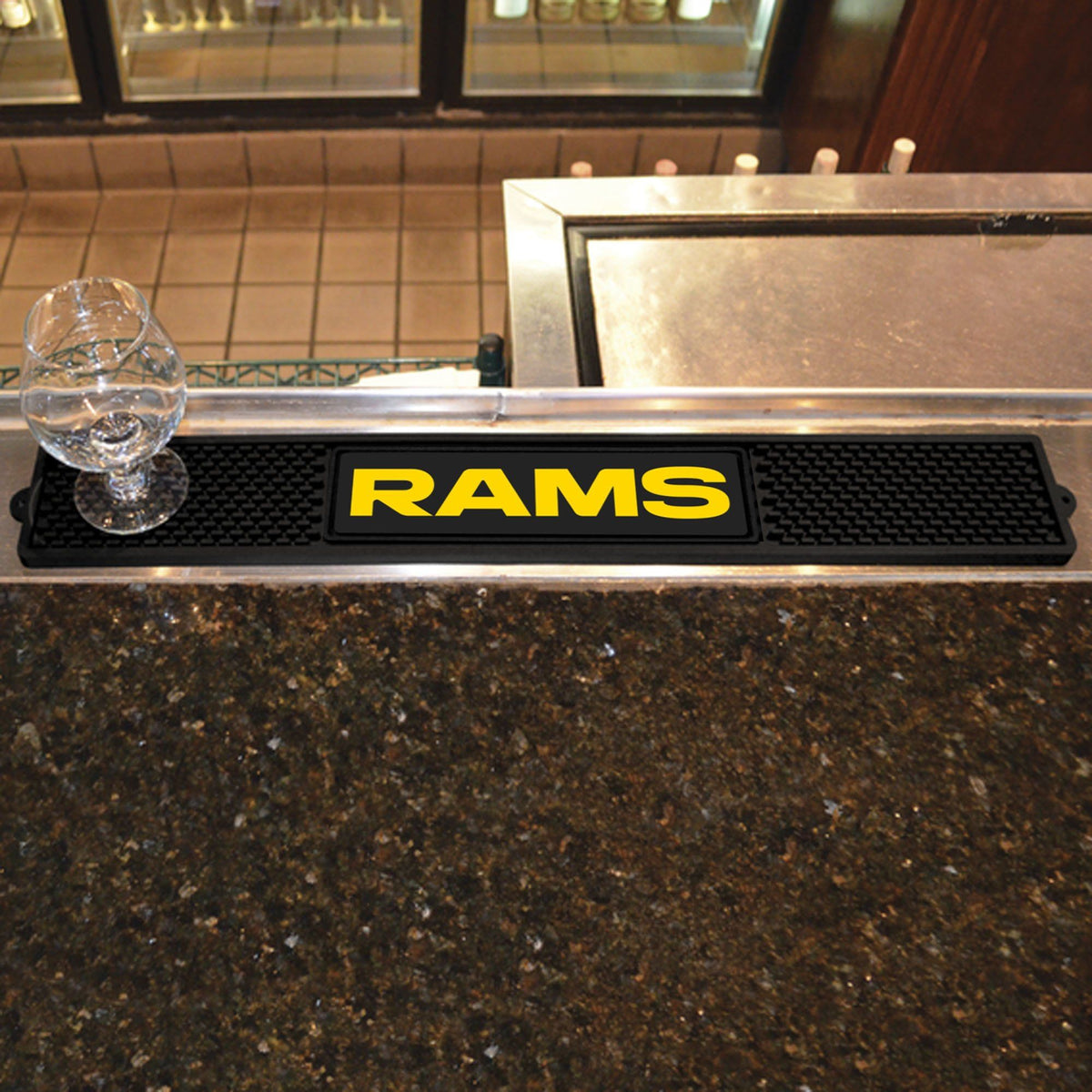 NFL - Drink Mat NFL Mats, Tailgate Accessory, Drink Mat, NFL, Leisure Fan Mats Los Angeles Rams