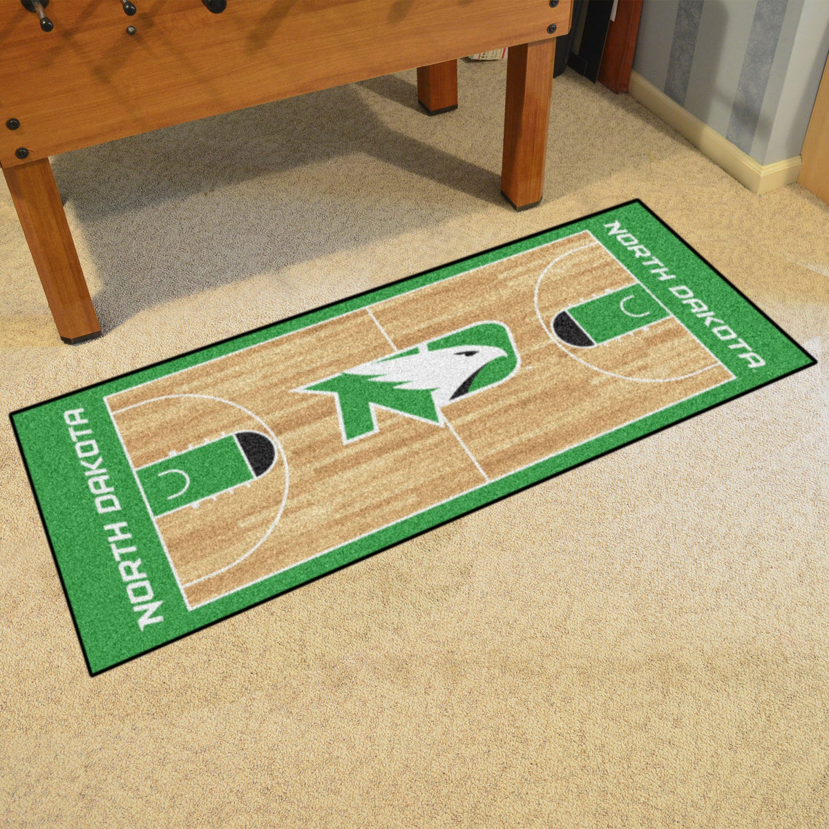 Collegiate - NCAA Basketball Runner Collegiate Mats, Rectangular Mats, NCAA Basketball Runner, Collegiate, Home Fan Mats North Dakota