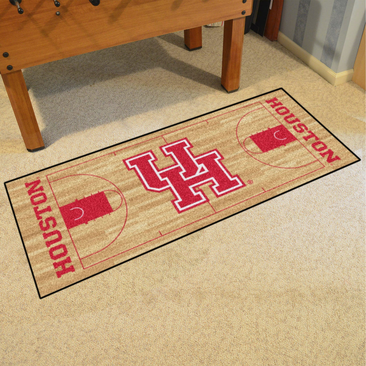 Collegiate - NCAA Basketball Runner Collegiate Mats, Rectangular Mats, NCAA Basketball Runner, Collegiate, Home Fan Mats Houston