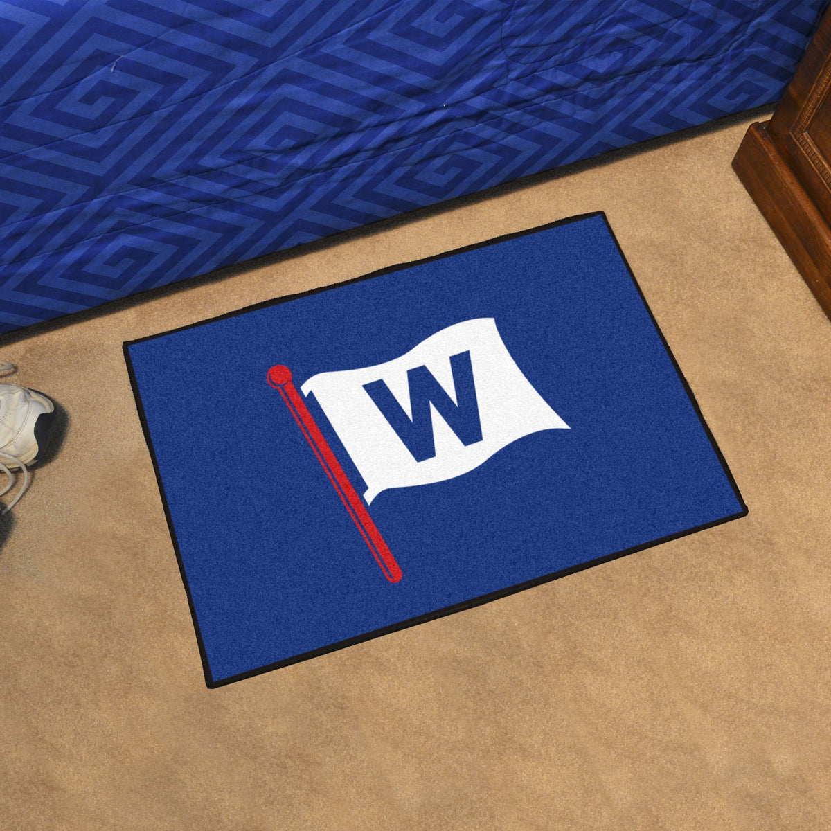 MLB - Starter Mat MLB Mats, Rectangular Mats, Starter Mat, MLB, Home Fan Mats Chicago Cubs 2