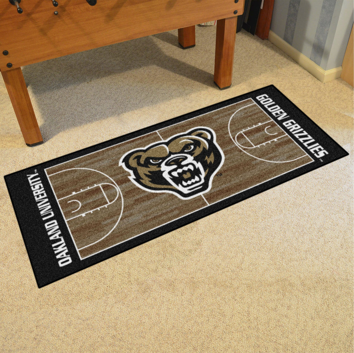 Collegiate - NCAA Basketball Runner Collegiate Mats, Rectangular Mats, NCAA Basketball Runner, Collegiate, Home Fan Mats Oakland