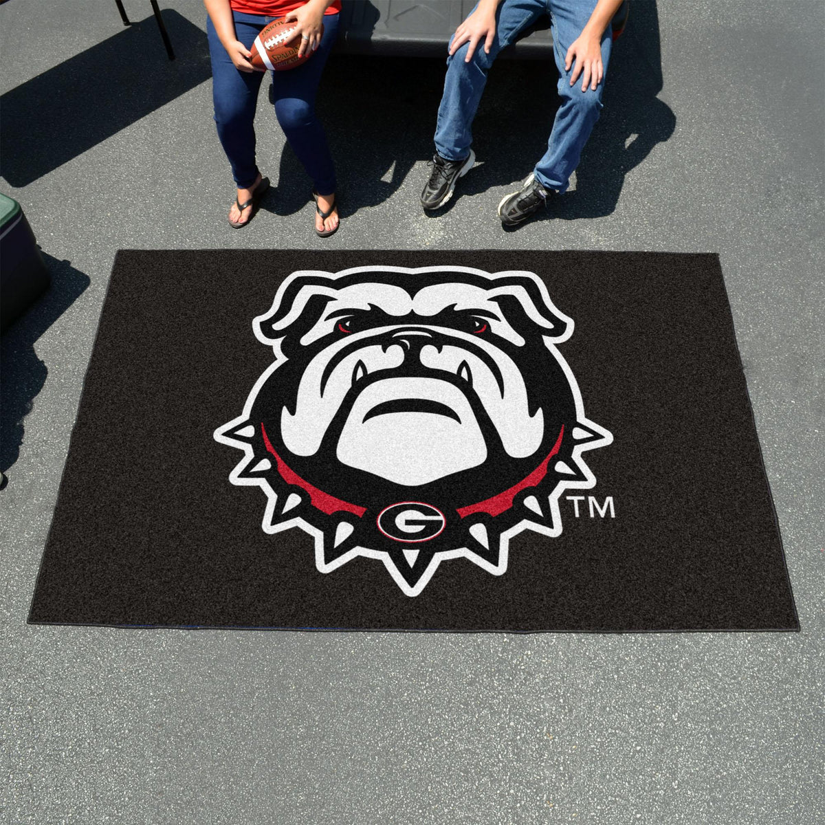 Collegiate - Ulti-Mat: A - L Collegiate Mats, Rectangular Mats, Ulti-Mat, Collegiate, Home Fan Mats Georgia 4