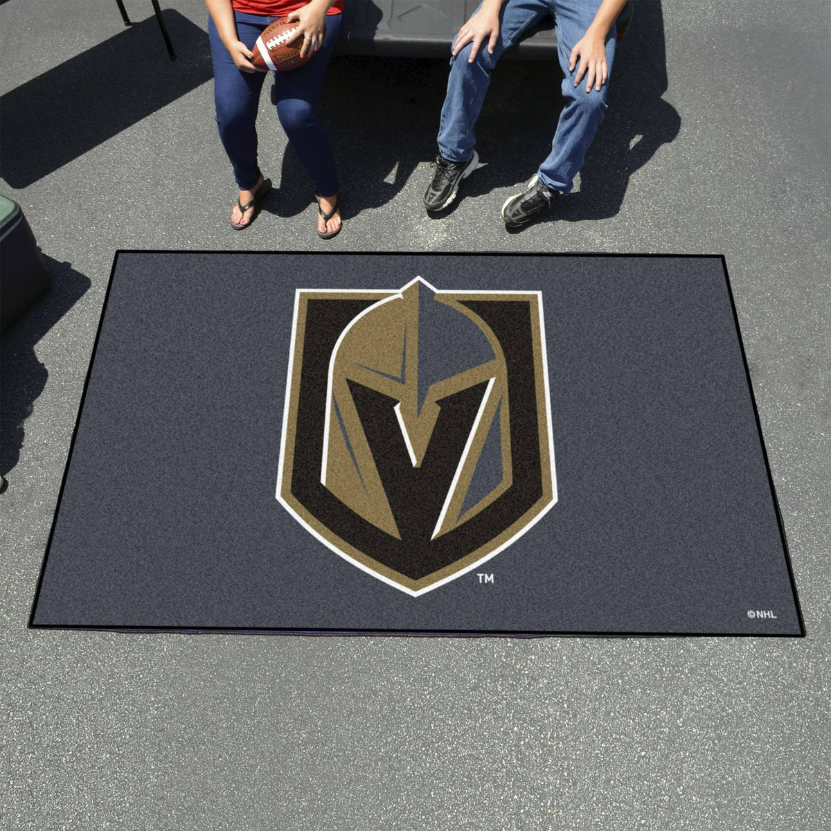 NHL - Ulti-Mat NHL Mats, Rectangular Mats, Ulti-Mat, NHL, Home Fan Mats Vegas Golden Knights
