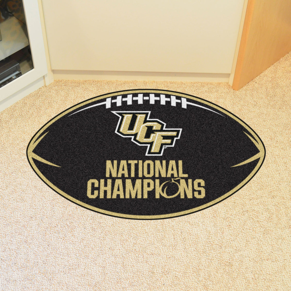 Collegiate - Football Mat: A - K Collegiate Mats, Rectangular Mats, Football Mat, Collegiate, Home Fan Mats Central Florida 2