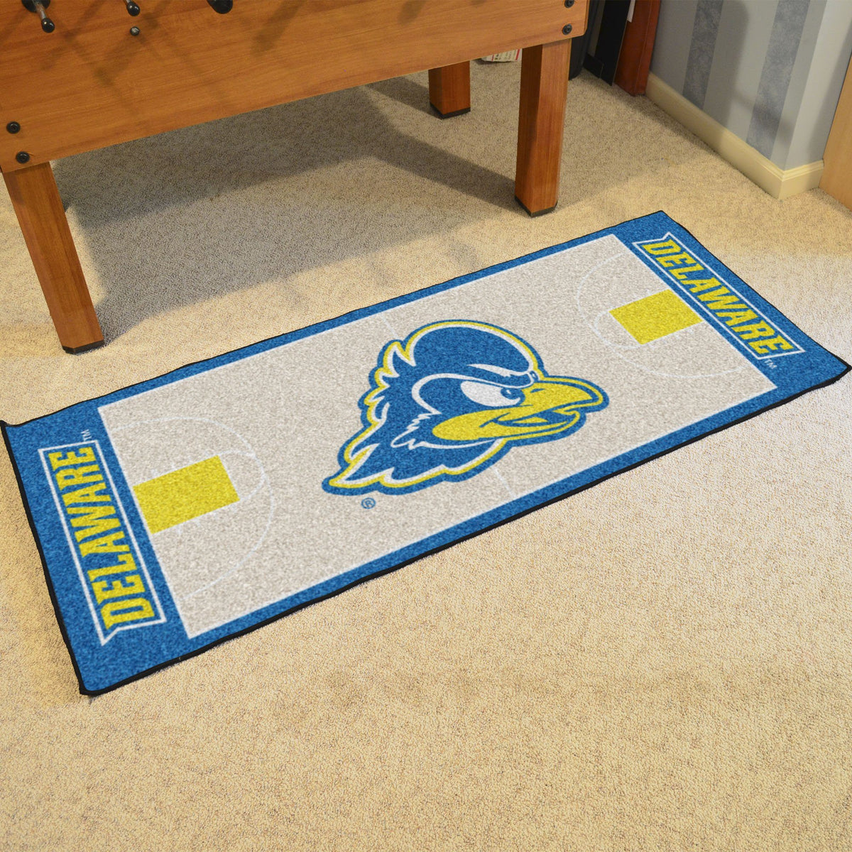 Collegiate - NCAA Basketball Runner Collegiate Mats, Rectangular Mats, NCAA Basketball Runner, Collegiate, Home Fan Mats Delaware