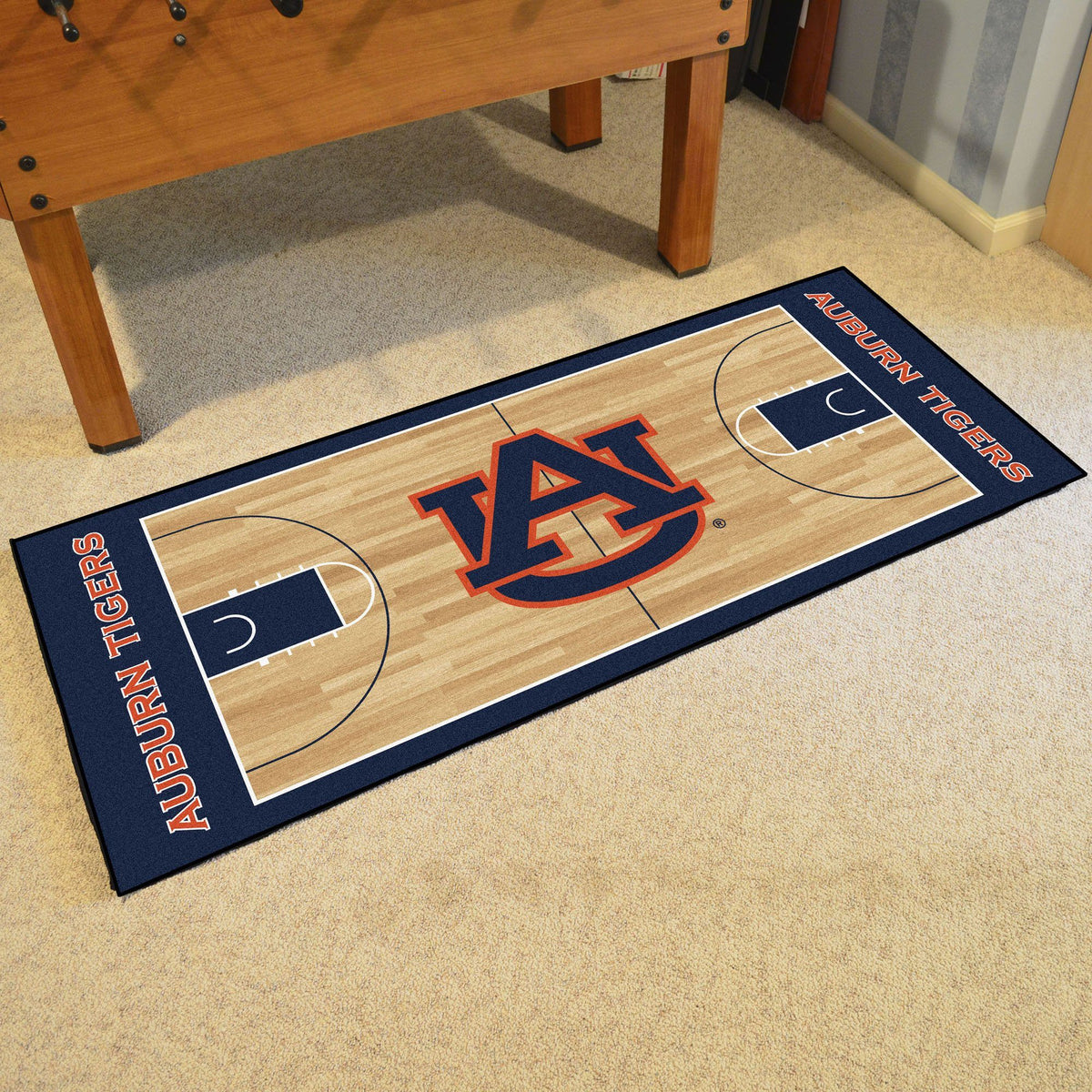 Collegiate - NCAA Basketball Runner Collegiate Mats, Rectangular Mats, NCAA Basketball Runner, Collegiate, Home Fan Mats Auburn