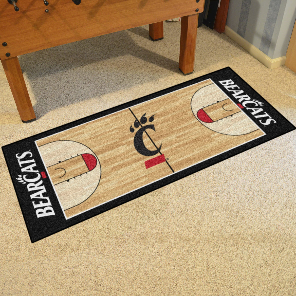 Collegiate - NCAA Basketball Runner Collegiate Mats, Rectangular Mats, NCAA Basketball Runner, Collegiate, Home Fan Mats Cincinnati