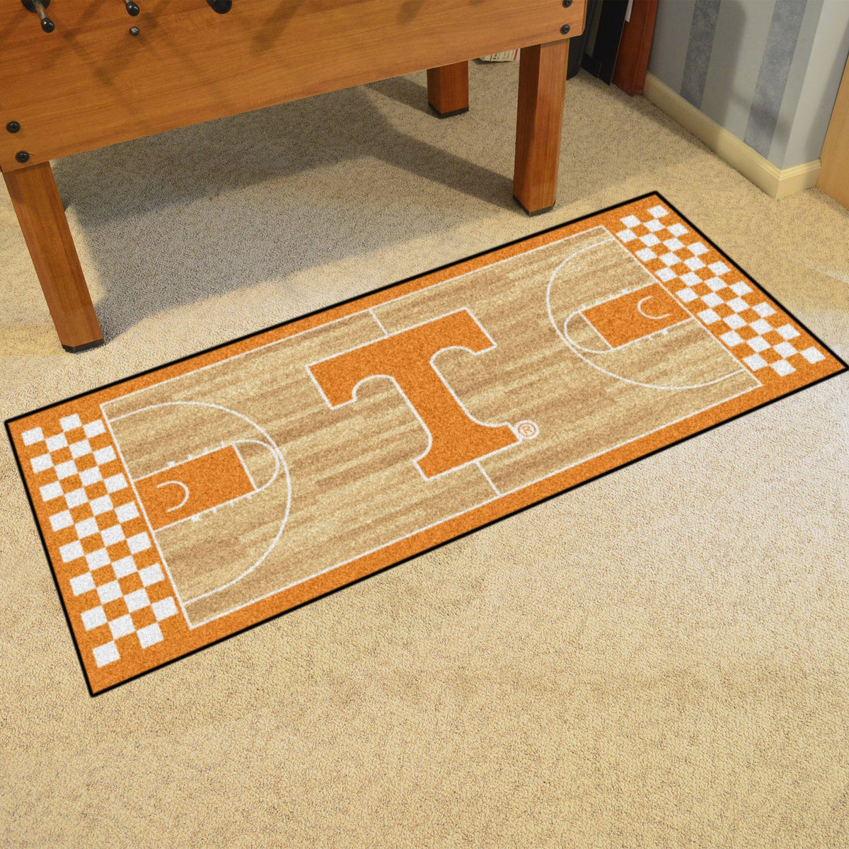 Collegiate - NCAA Basketball Runner Collegiate Mats, Rectangular Mats, NCAA Basketball Runner, Collegiate, Home Fan Mats Tennessee