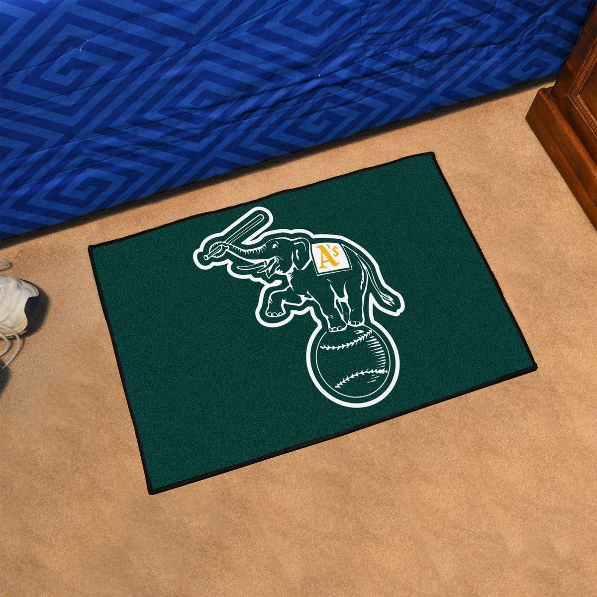 MLB - Starter Mat MLB Mats, Rectangular Mats, Starter Mat, MLB, Home Fan Mats Oakland Athletics 2