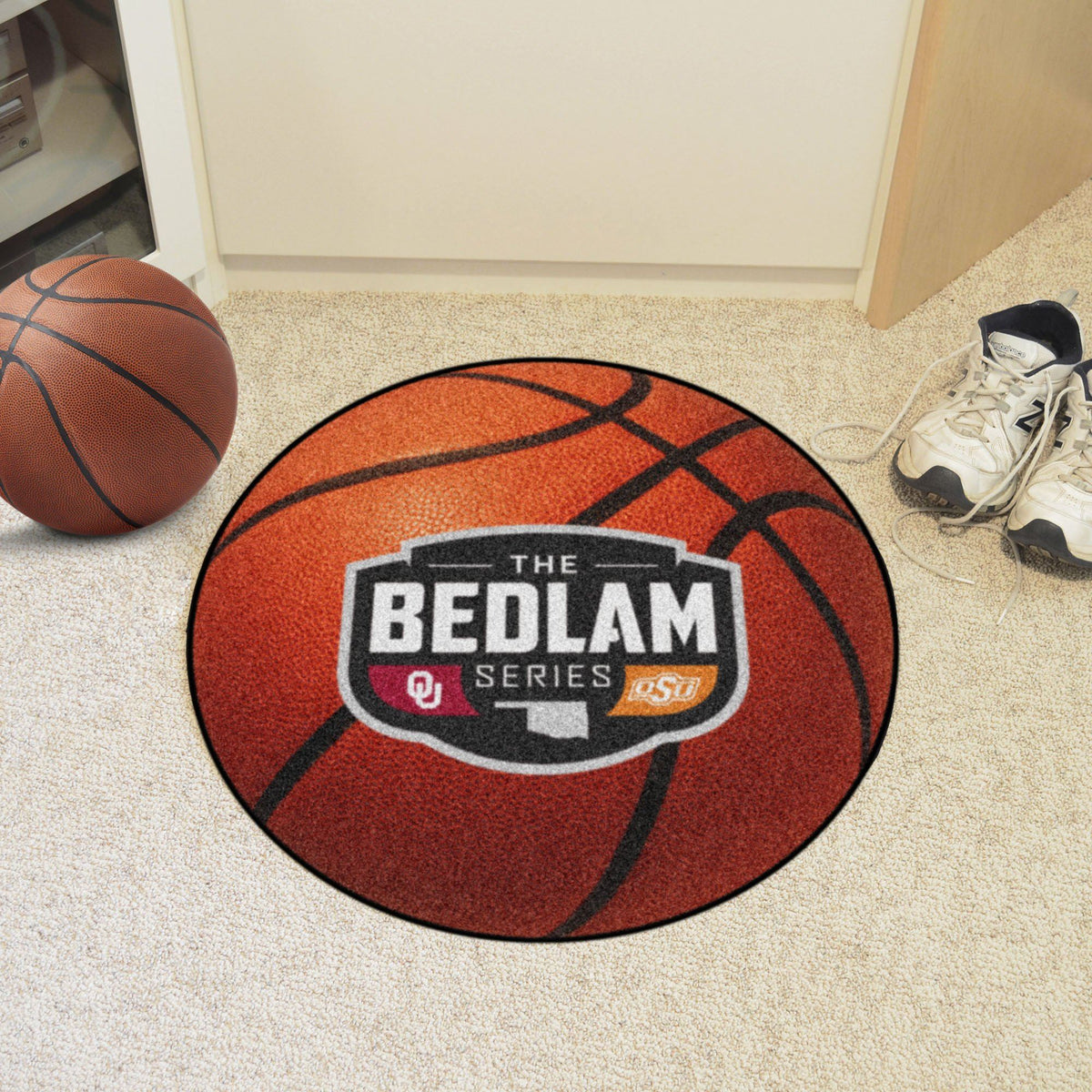 Collegiate - Basketball Mat: T - Z Collegiate Mats, Rectangular Mats, Basketball Mat, Collegiate, Home Fan Mats The Bedlam Series
