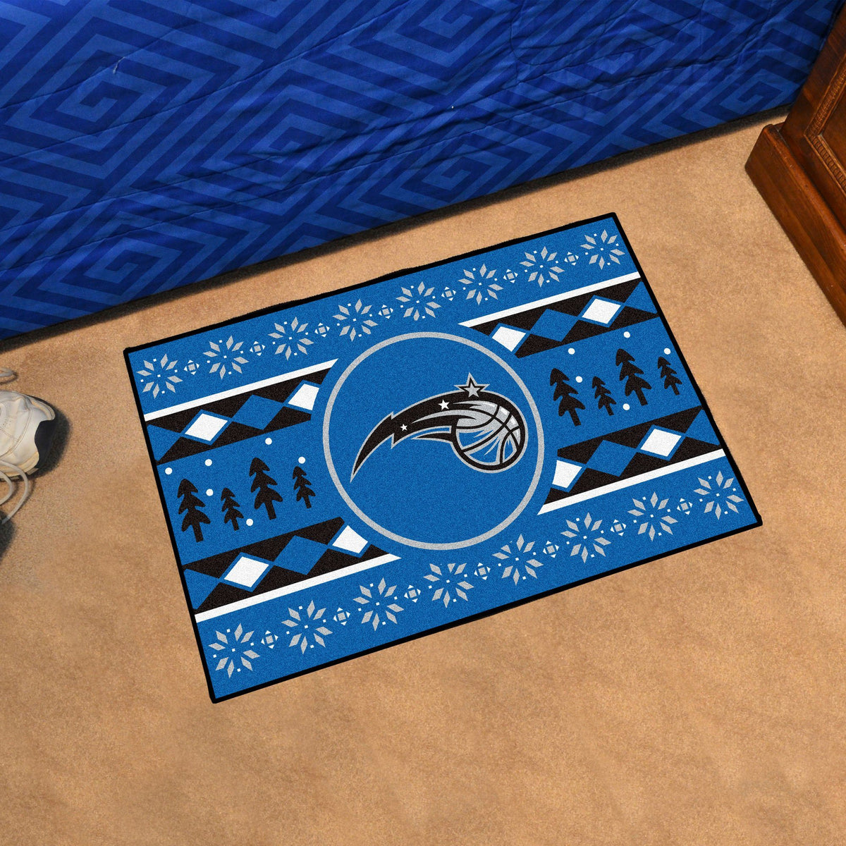 NBA - Holiday Sweater Starter Mat NBA Mats, Rectangular Mats, Holiday Sweater Starter Mat, NBA, Home Fan Mats Orlando Magic